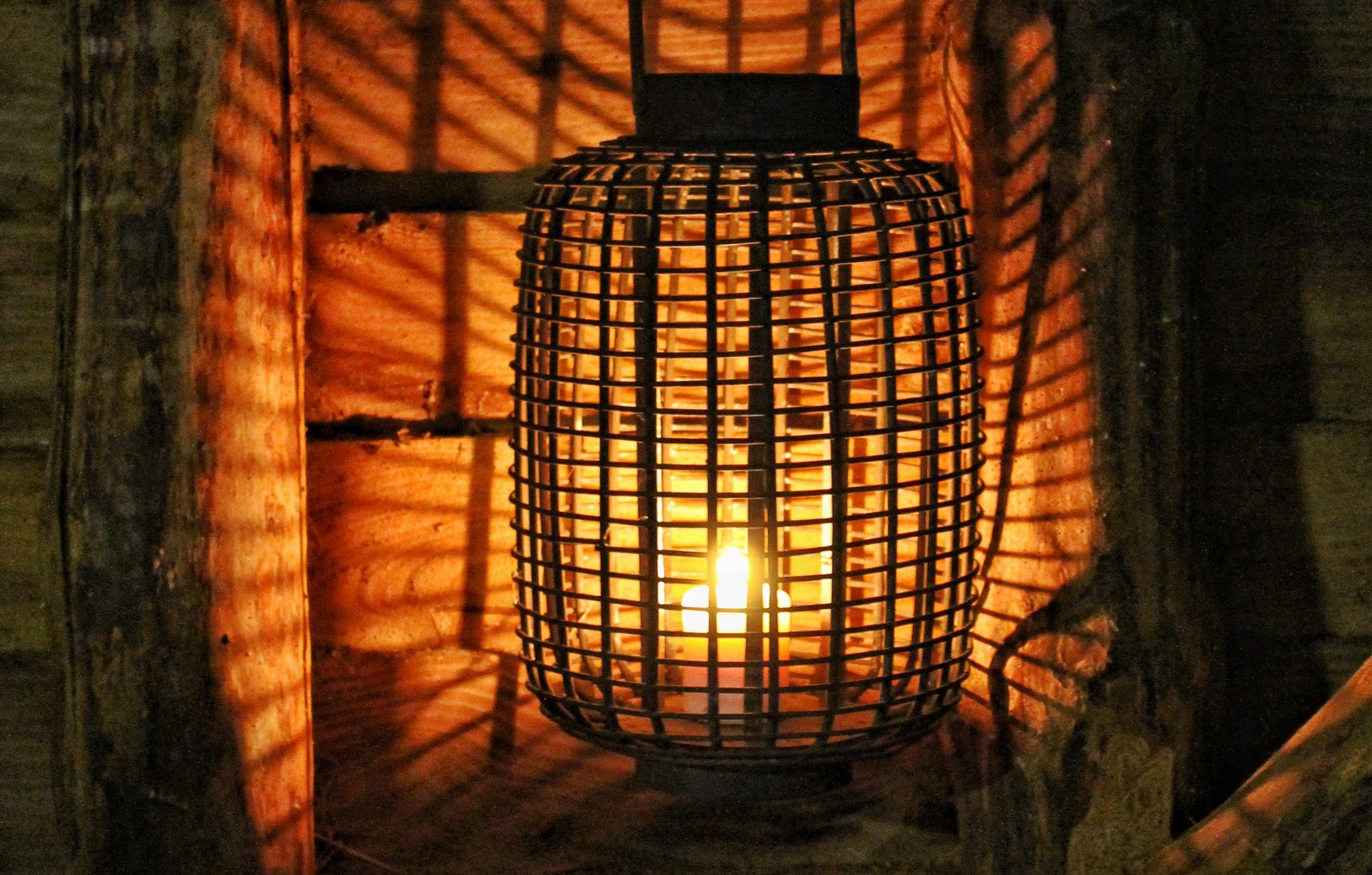 Ting å tenke over før du brenner levende lys